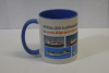 "Mug II ""Ferries and pilots""  (1 p.) - blue -"