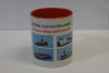 "Mug III ""Tugs and construction vessel""  (1 p.) - red -"